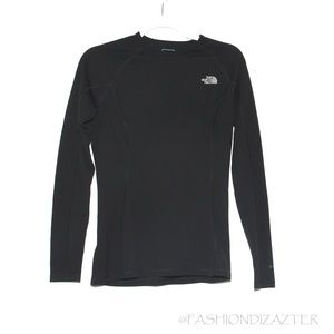 The North Face L/S Flash Dry top Black Size M